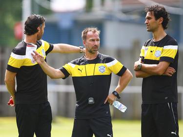Das neue Trainerteam des SC Wiener Neustadt