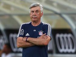 Carlo Ancelotti steht vor seiner zweiten Saison beim FC Bayern am Scheideweg