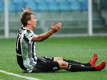 Mario Mandzukic und Juve mussten im Kampf um die Meisterschaft einen Rückschlag einstecken
