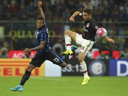 Hat Inter im Winter verlassen: Fredy Guarín (l.)