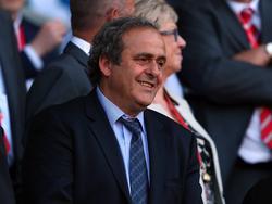 Michel Platini steht bei der UEFA-Tagung im Mittelpunkt des Geschehens