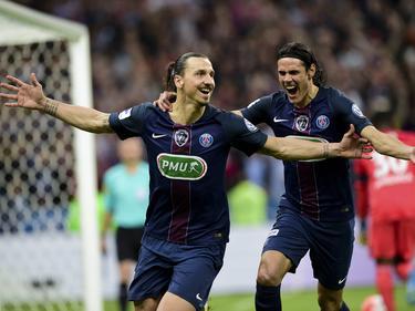 PSG um Superstar Ibrahimović krönt eine Rekordsaison mit dem Triple