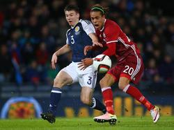 Yussuf Poulsen (r.) darf bei Olympia für Dänemark antreten