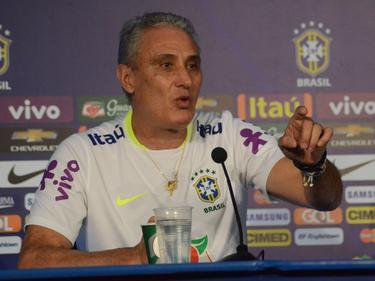 Trainer Tite und die Seleção hatten einen langen Trip nach Venezuela