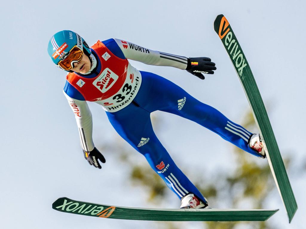 David Siegel ist deutscher Skisprung-Meister