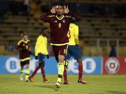 Yangel Herrera fue titular de nuevo con la selección vinotinto. (Foto: Imago)