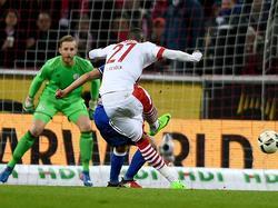 Anthony Modeste erzielte für den 1. FC Köln den Ausgleichstreffer
