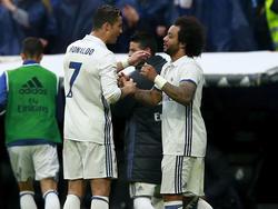 Ronaldo (l.) und Marcelo markierten die entscheidenden Real-Treffer