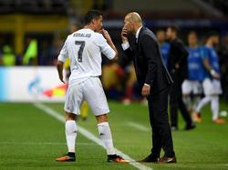 Ronaldo und Zidane sind in der Torwart-Frage wohl uneins