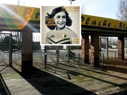 Auch rund um Leipzig waren die Aufkleber im Umlauf