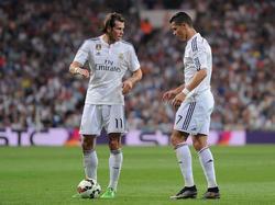 Ein Herz und eine Seele: Gareth Bale (l.) und Cristiano Ronaldo