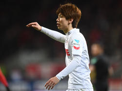 Yuya Osako zog sich eine Knieverletzung zu