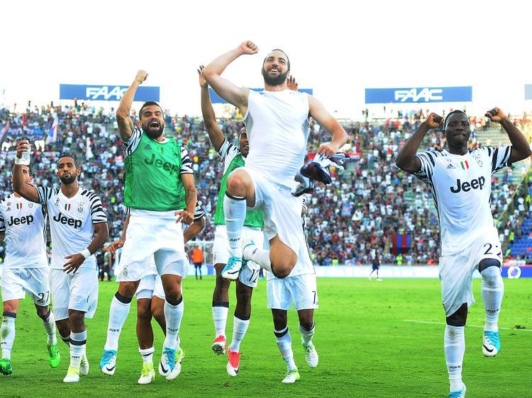 Juventus gewann auch das letzte Spiel der Saison