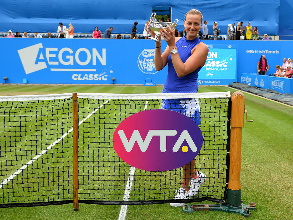Platz 14 (-): Petra Kvitova - 3135 Punkte