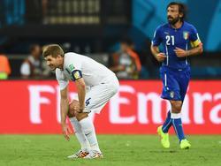 Andrea Pirlo (r.) und Steven Gerrard dürfen nicht am Allstar-Spiel in Kuwait teilnehmen