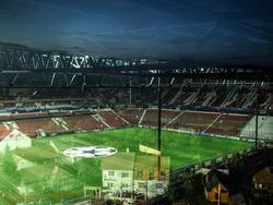 Das Stadion von CFR Cluj im Vorfeld der Champions League Partie gegen Manchester United 2012/2013