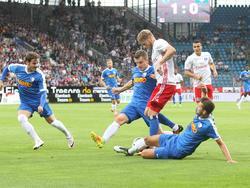 Aaron Hunt und der HSV unterlagen in Bochum