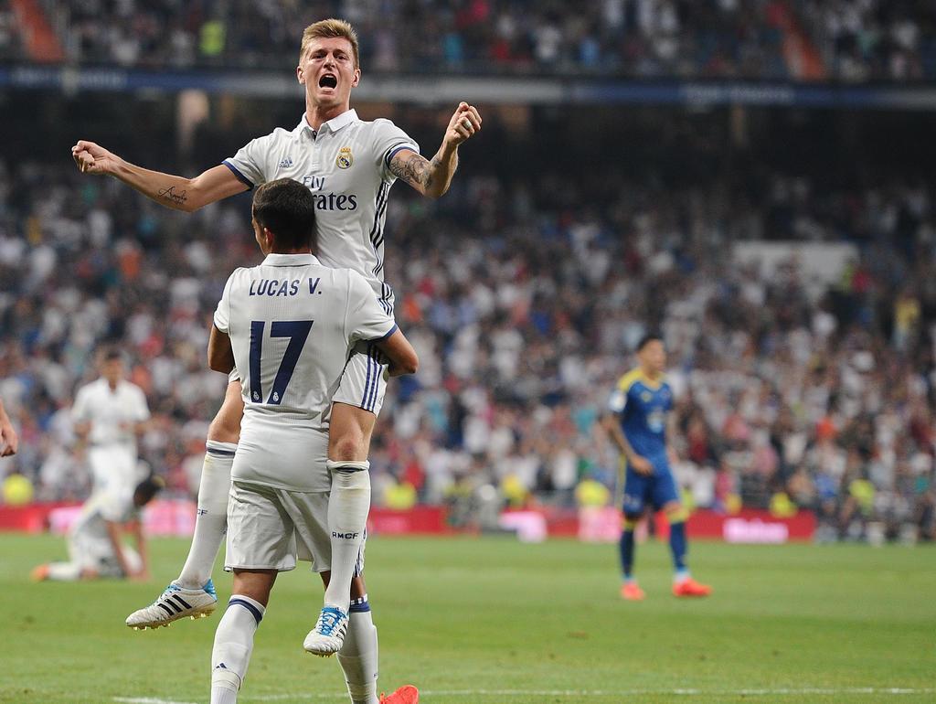 Toni Kroos schießt Real nach zähem Ringen zum Sieg