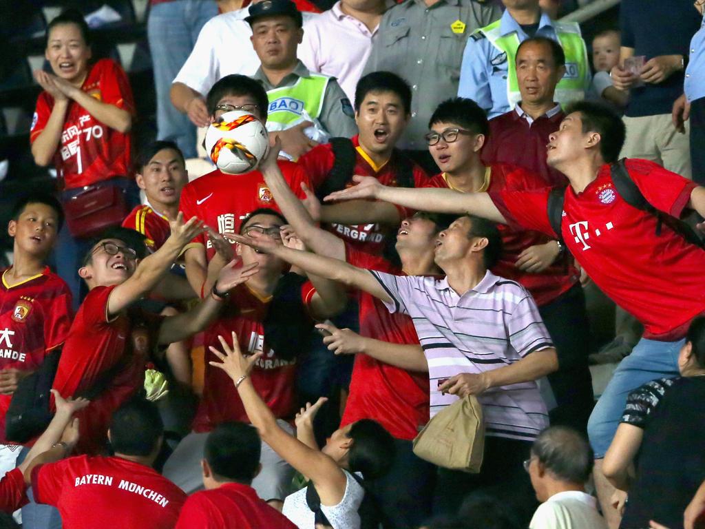 Bayern-München-Fans in China