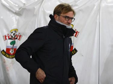 Jürgen Klopp war nach der Niederlage in Southampton bedient