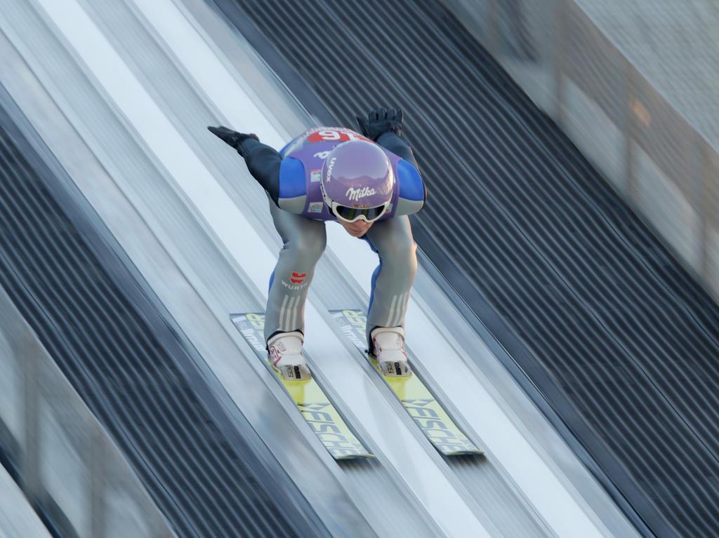 Andreas Wellinger sprang in Südkorea am Ende noch auf Rang drei