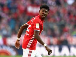 Fehlt den Bayern womöglich gegen den BVB: David Alaba