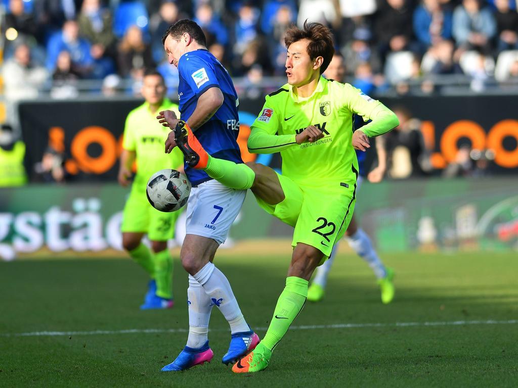 Platz 8: Dong-won Ji (FC Augsburg)