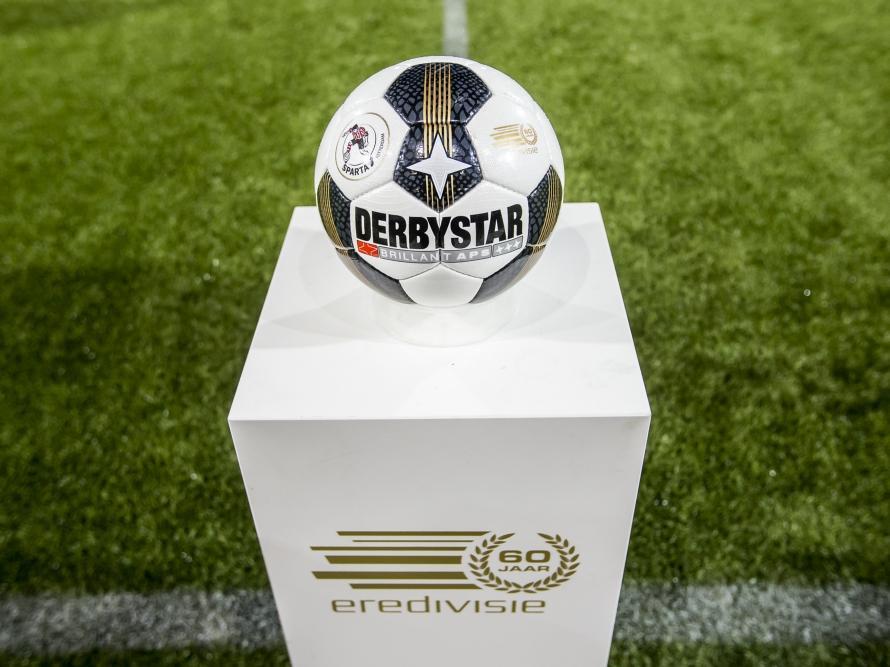 Eredivisie bal aan de start van wedstrijd. Bron: Pro Shots / Kay Int Veen