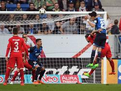 Benjamin Hübner köpft Hoffenheim zum Sieg gegen Frankfurt
