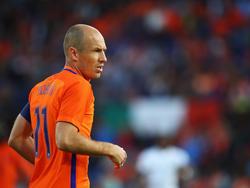 Arjen Robbens Niederländer gehen in Frankreich unter