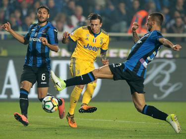 Juventus Turin gab eine 2:0-Führung gegen Atlanta Bergamo noch aus der Hand