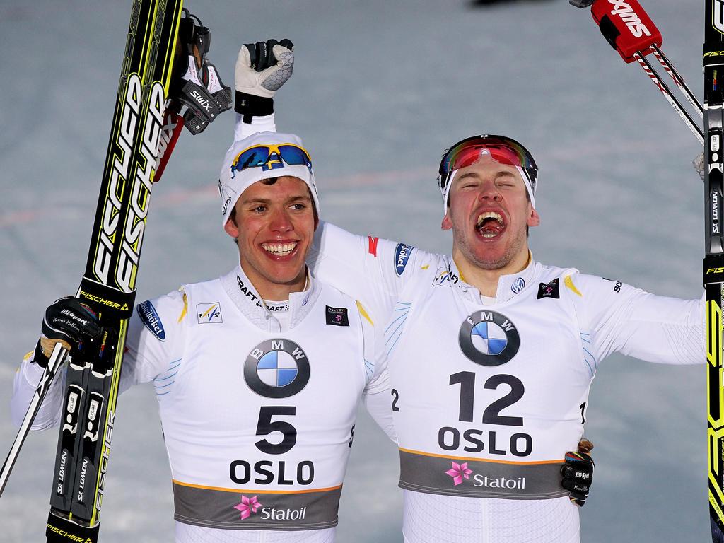 Langlauf: Hellner und Jönsson im Doppelpack