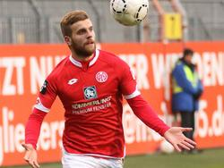 Lucas Höler trifft doppelt in Großaspach