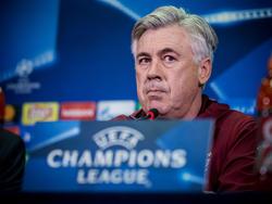 Carlo Ancelotti und seine Bayern empfangen Atlético Madrid