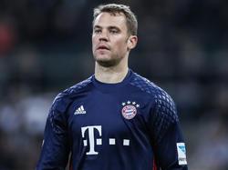 Manuel Neuer wird in 2016/2017 kein Spiel mehr bestreiten