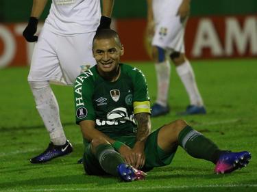 El Chapecoense ganó pero tendrá que seguir en la Sudamericana. (Foto: Getty)