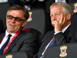Eine hocherfreute ÖFB-Führung beim 1:0-Sieg von Österreichs Frauen