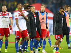 Nach den jüngsten Niederlagen ist der HSV zurück im Abstiegskampf