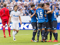 Auch Hoffenheim jubelte gegen Schalke