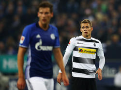 Gegen Schalke nicht dabei: Thorgan Hazard (r.)