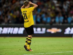 Für Jacob Bruun Larsen vom BVB ist die Saison beendet