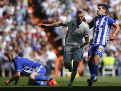 Karim Benzema erzielte für Real Madrid den wichtigen Führungstreffer