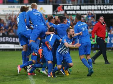 Der SV Meppen ist in die 3. Liga aufgestiegen
