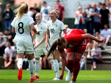 Die Deutschen U19-Mädels qualifizieren sich souverän für die EM