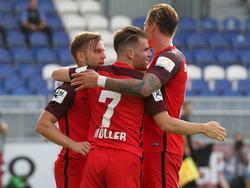 Wiesbaden feiert den dritten Sieg im dritten Spiel