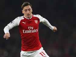 Mesut Özil spielt seit vier Jahren für den FC Arsenal