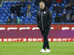 Markus Anfang vermied ein klares Bekenntnis zu Holstein Kiel