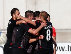Geglückter Test für Albanien