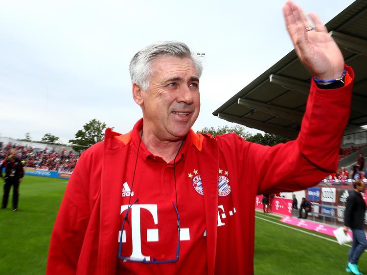 Carlo Ancelotti ist schon jetzt sehr beliebt in München