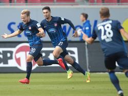 Bård Finne (l.) ebnete seiner Mannschaft den Weg zum Erfolg